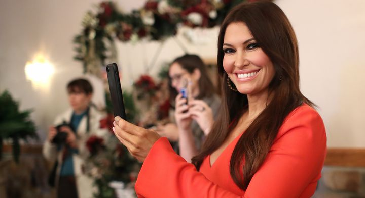 Kimberly Guilfoyle, girlfriend of Donald Trump Jr., spends a lot of time on Instagram.