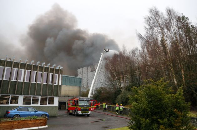 Ocado Fire: Residents Evacuated Amid Fears Of Explosion Or Toxic Gas