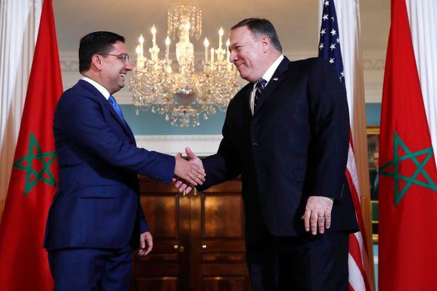 A Washington, Bourita et Pompeo examinent l'élargissement de la coopération