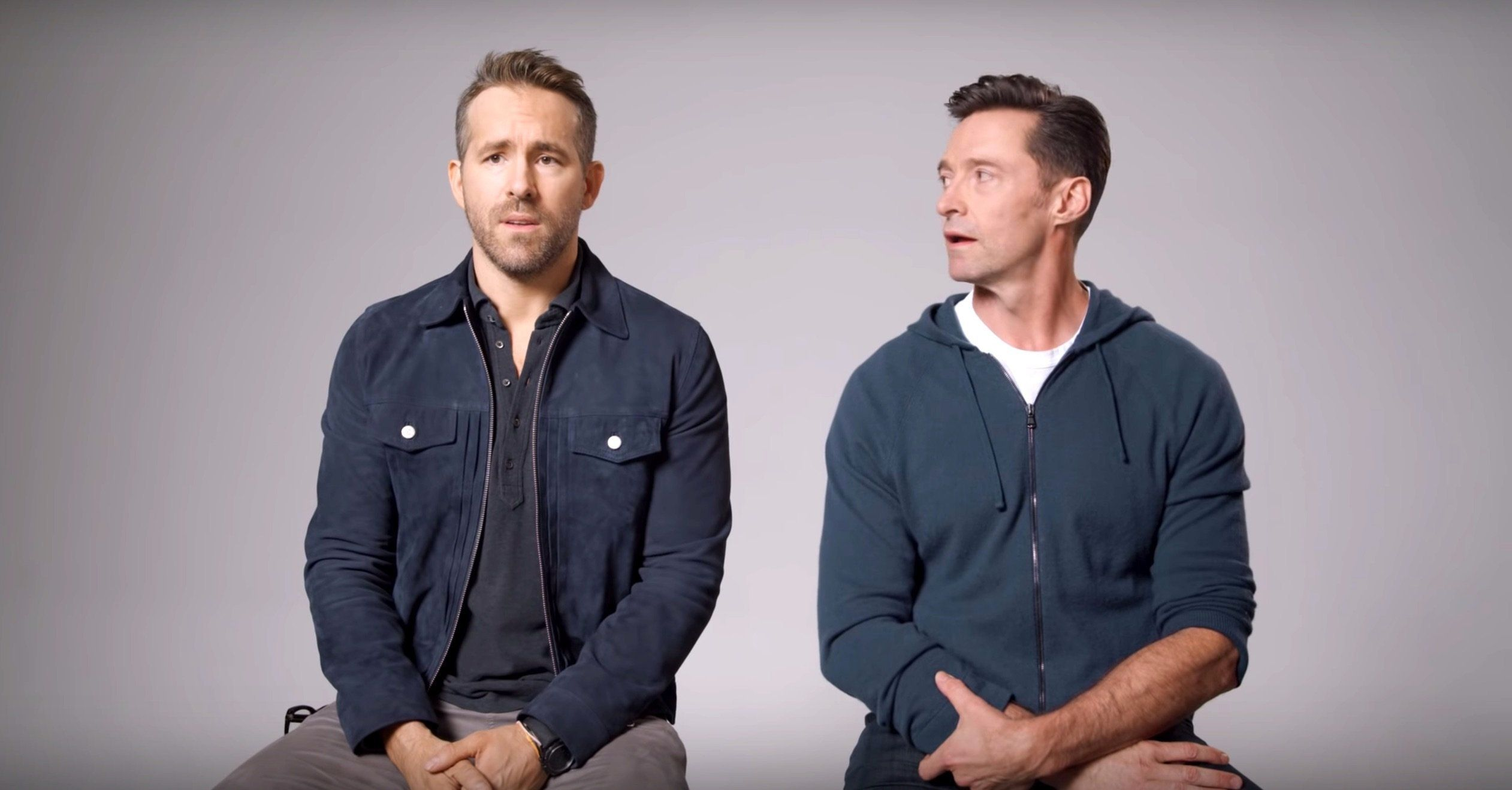 Ryan Reynolds, Hugh Jackman