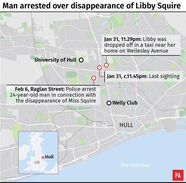 Man Arrested On Suspicion Of Abducting Hull Student Libby
