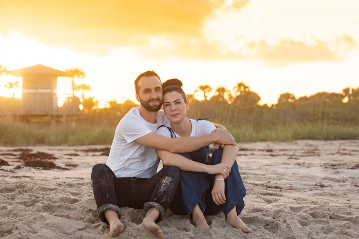 Jennifer Gorman with her husband, Jordan.
