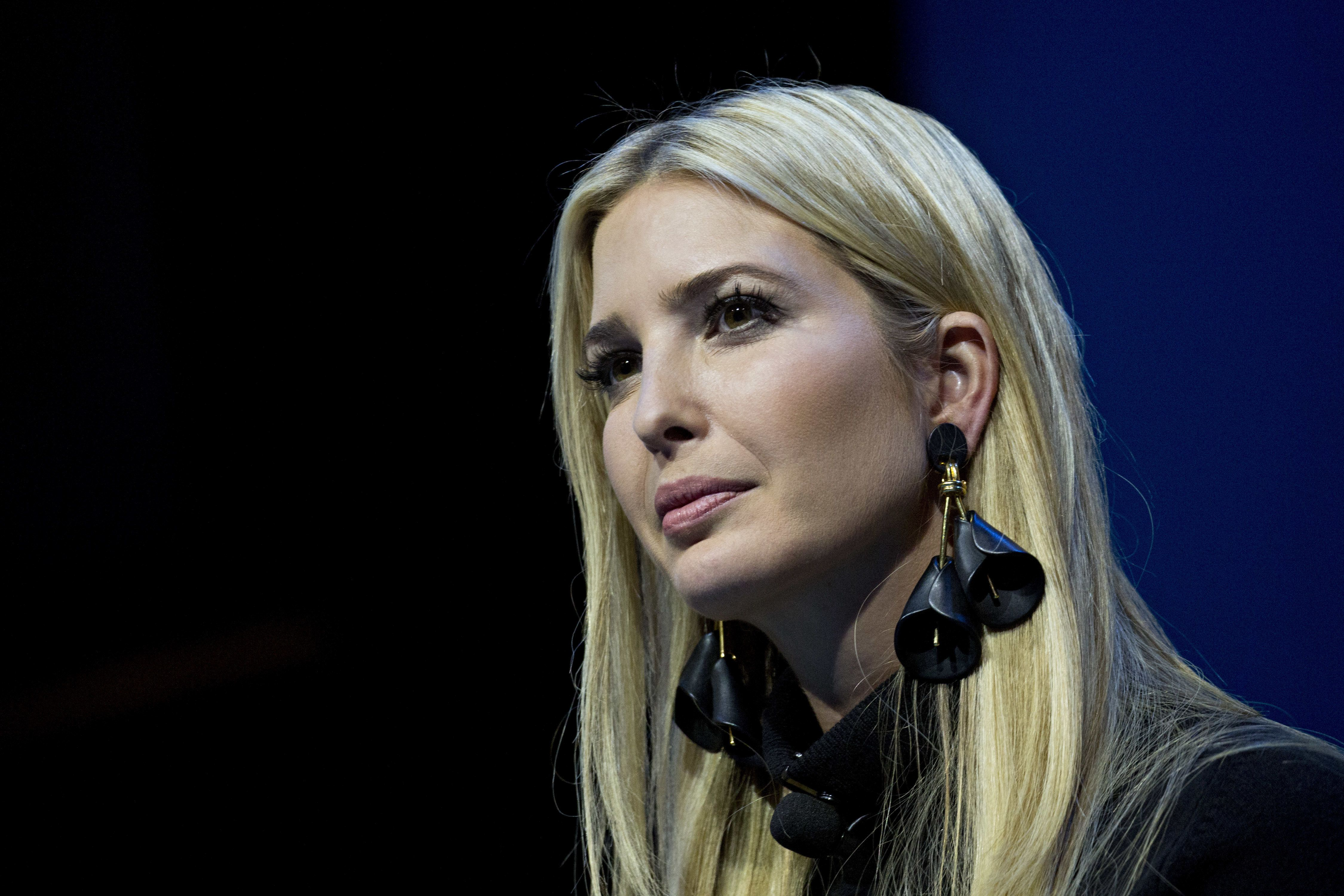 Ivanka Trump, assistant to U.S. President Donald Trump, listens during a Business Roundtable CEO Innovation Summit discussion in Washington, D.C., U.S., on Thursday, Dec. 6, 2018. The summit features discussions with Americas top chief executive officers, government leaders and industry experts on ideas and policies. Photographer: Andrew Harrer/Bloomberg via Getty Images