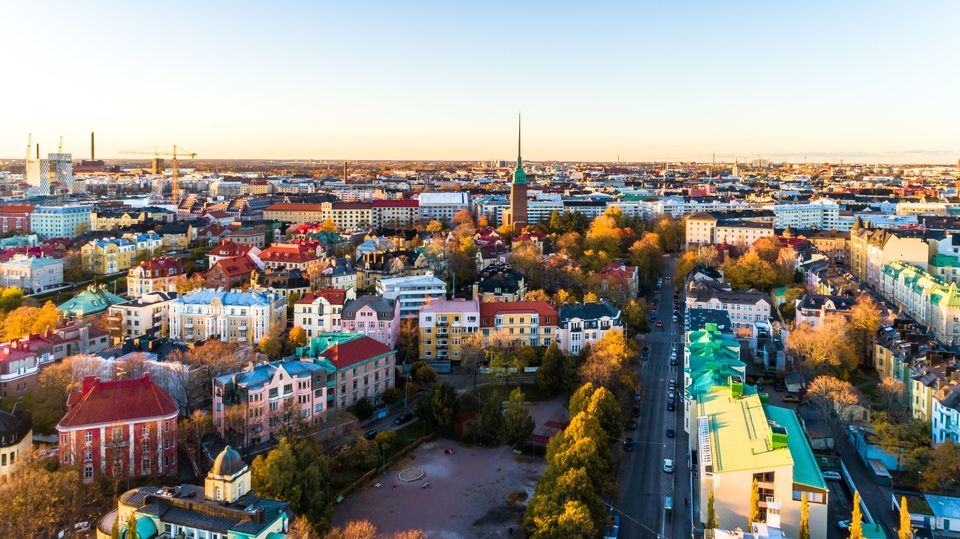 Helsinki, where Tuomas is based. Participants for the UBI trial were selected from across the