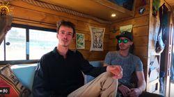 Ces deux français ont traversé la Tunisie en camping car pendant un mois