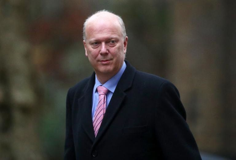 Labour accused Transport Secretary Chris Grayling of