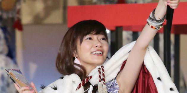 【AKB総選挙】指原莉乃が史上初の連覇