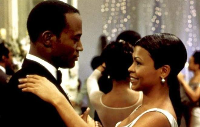 """Taye Diggs and Nia Long share a dance in """"The Best Man."""""""