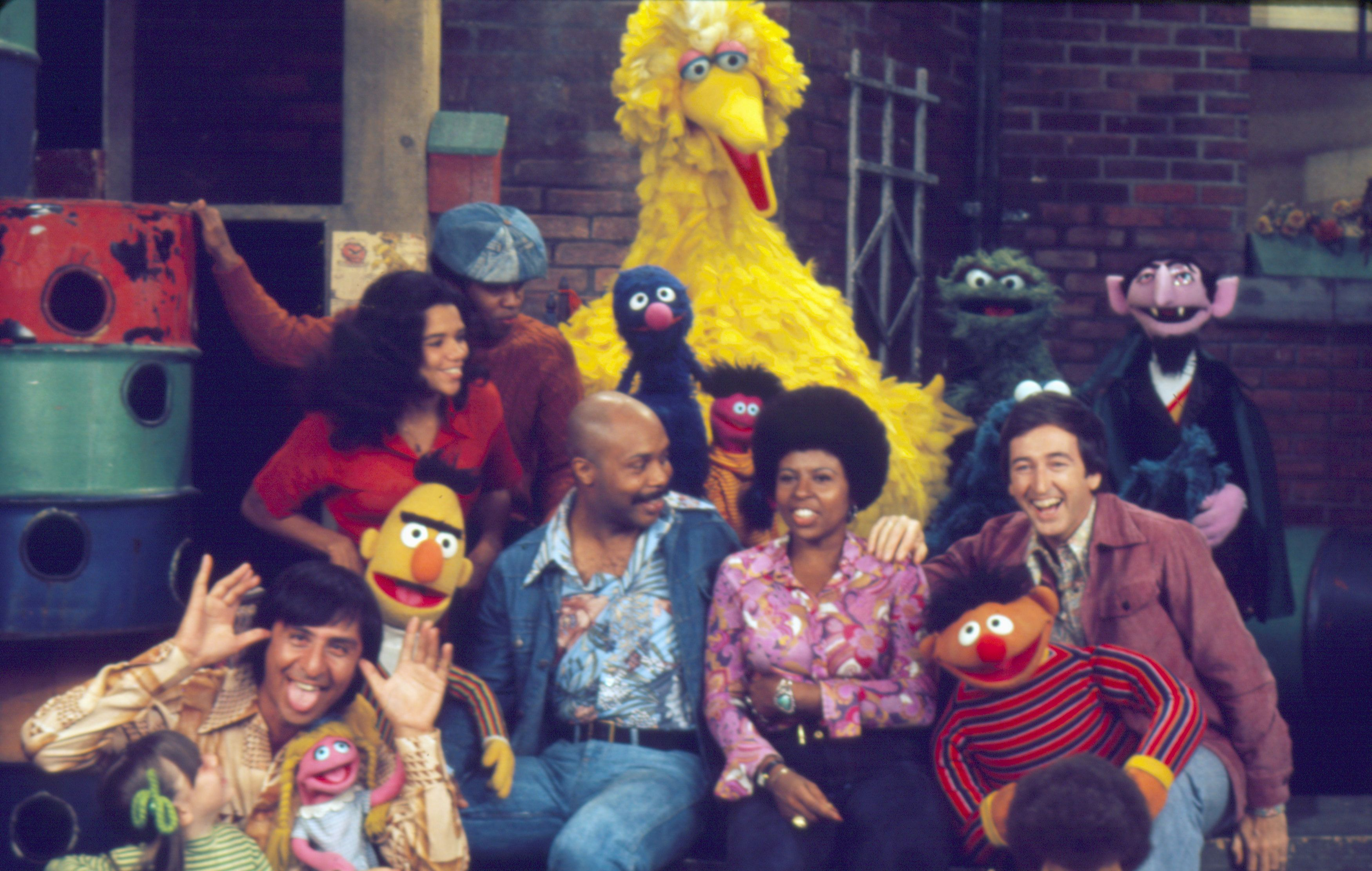 """Sesame Street"" celebrates its 50th anniversary this year."