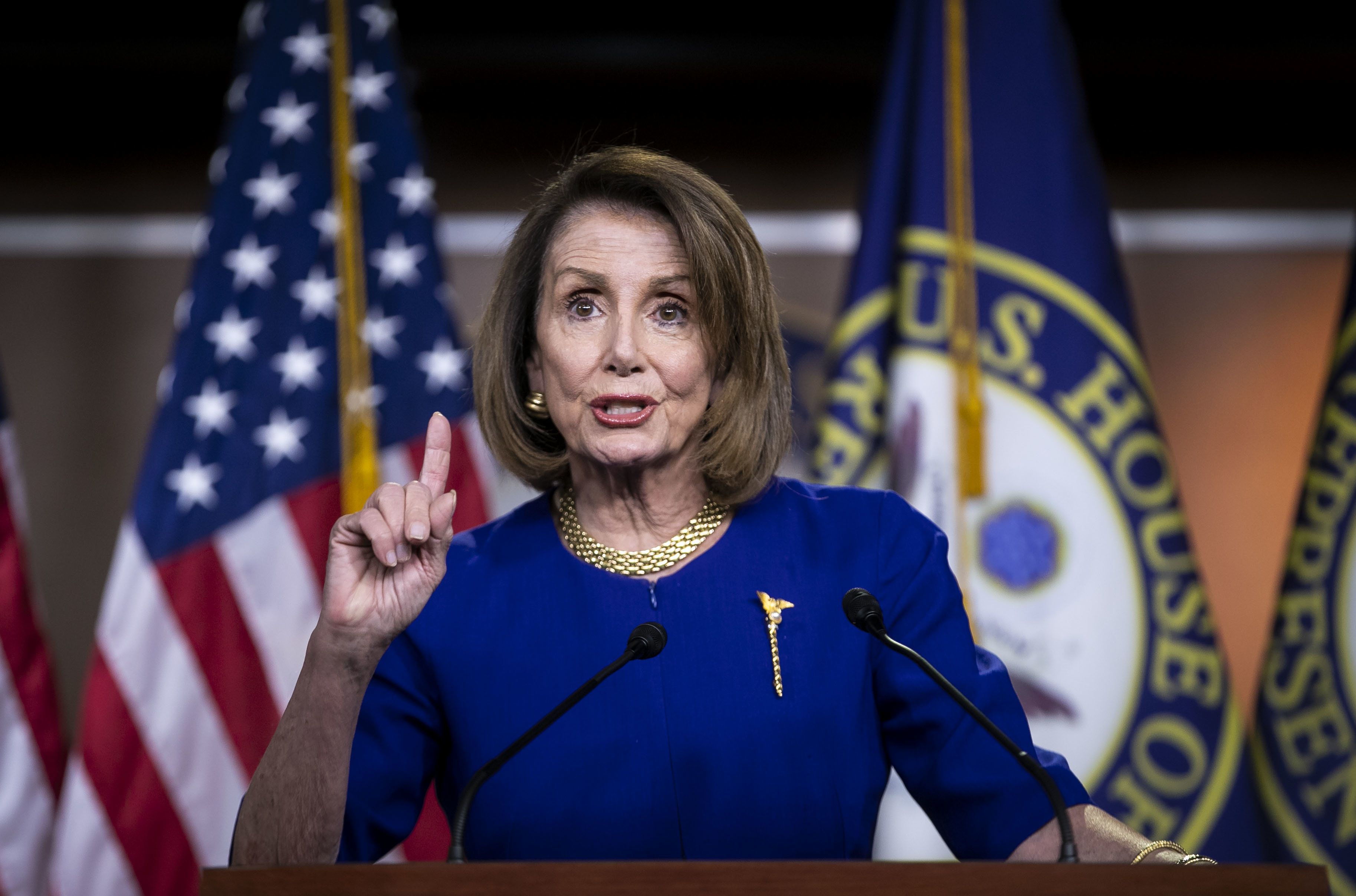Nancy Pelosi Keeps Testing The Left — And The Left Keeps Taking