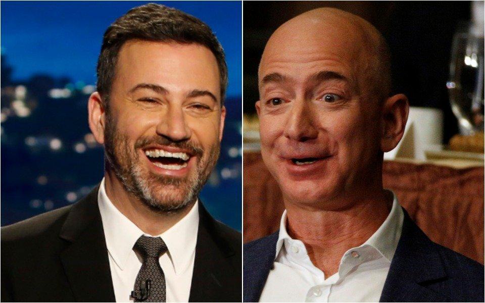 Jimmy Kimmel, Jeff Bezos