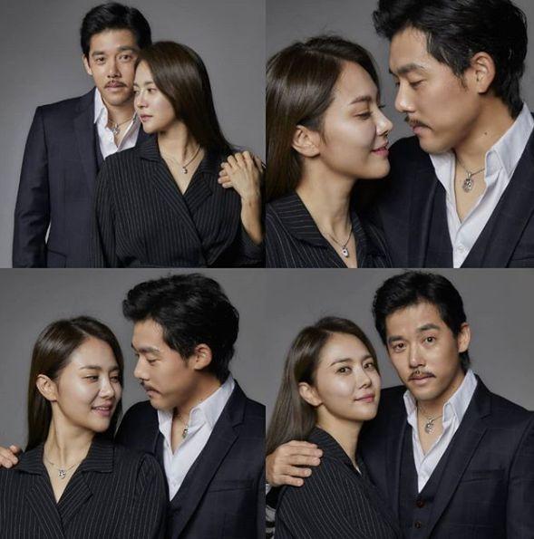 배우 유하나와 야구선수 이용규가 둘째 임신 소식을