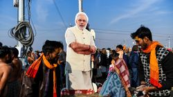 At Kumbh Mela, Religious Leaders Are Drumming Up Support For Modi And