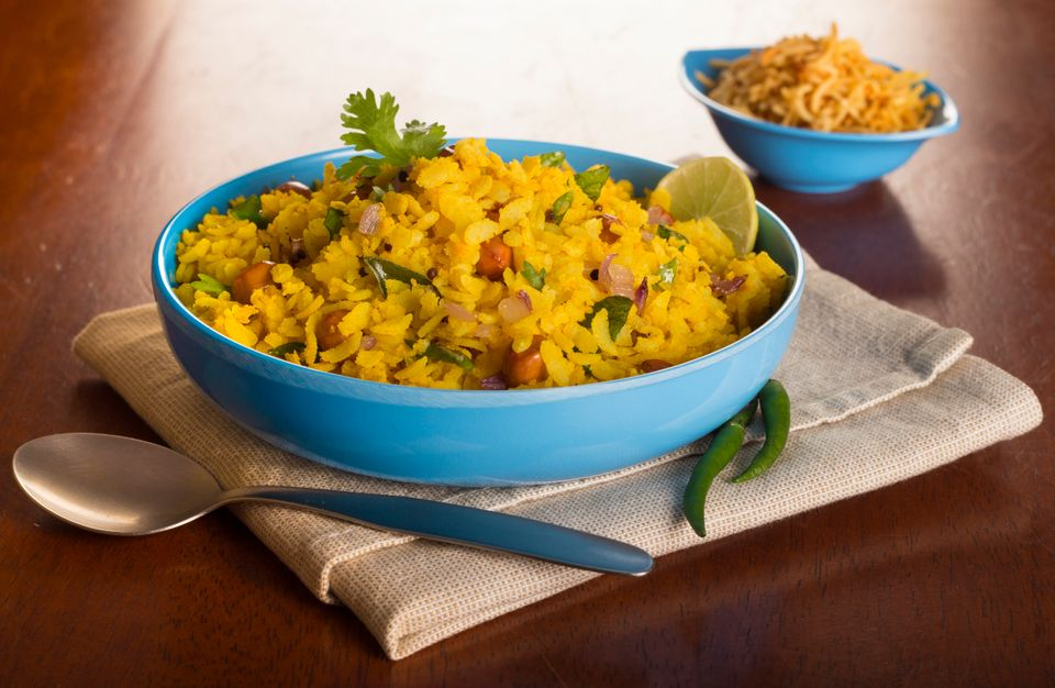 Poha from Maharashtra is one of the many Indian foods that are naturally