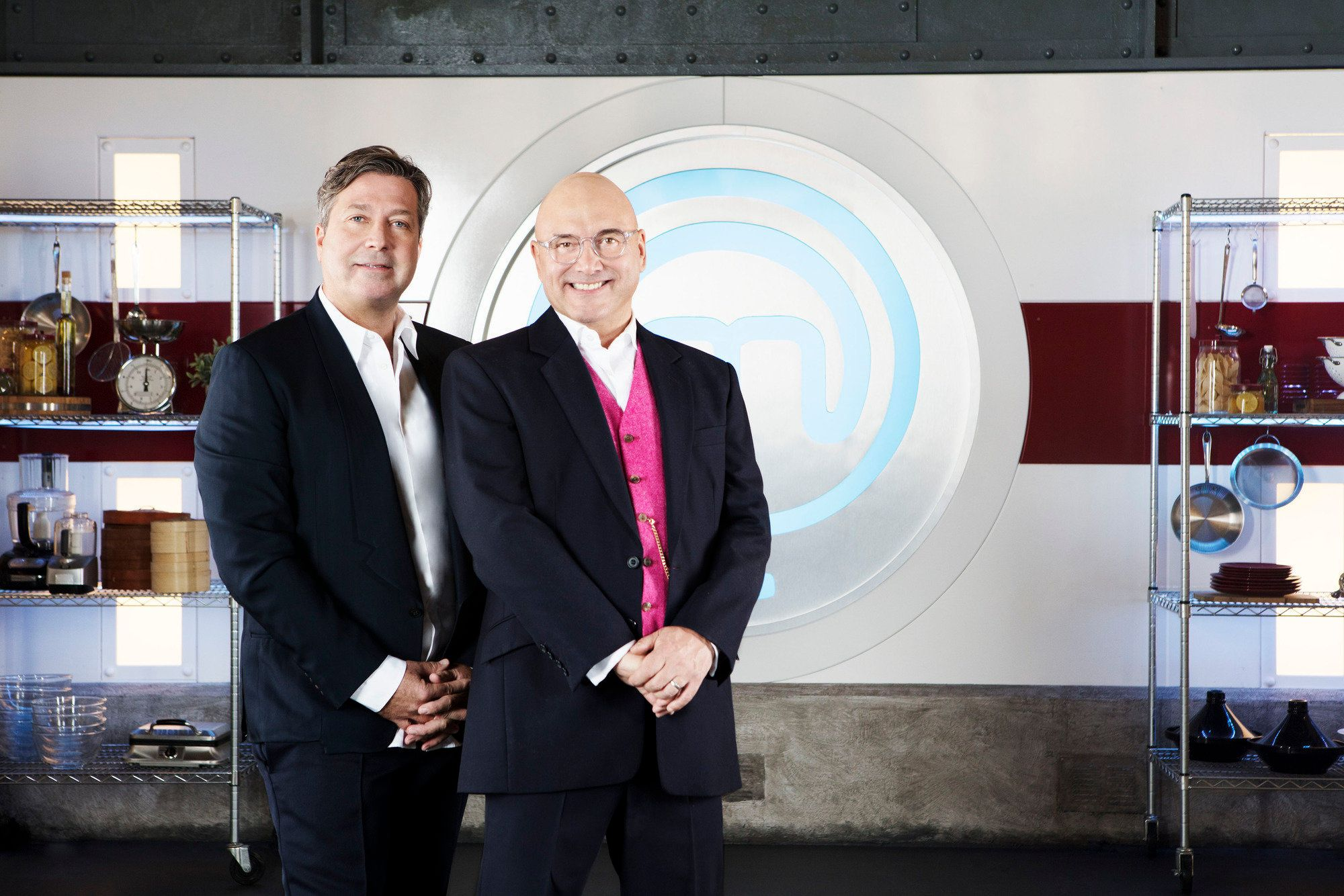 John Torode and Gregg Wallace have worked together on MasterChef since