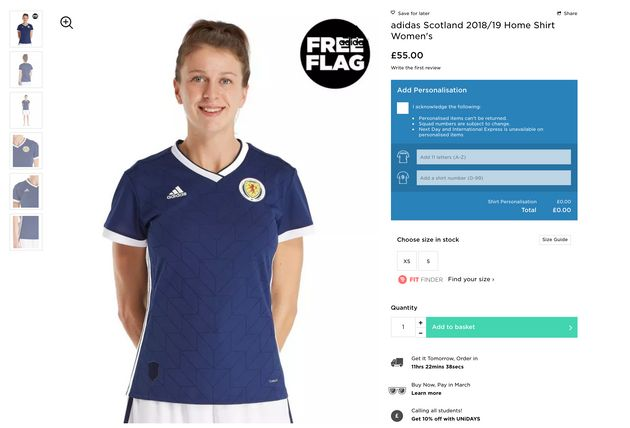 JD Sports Forced To Apologise For 'Sexist' Photo Of Women's Football
