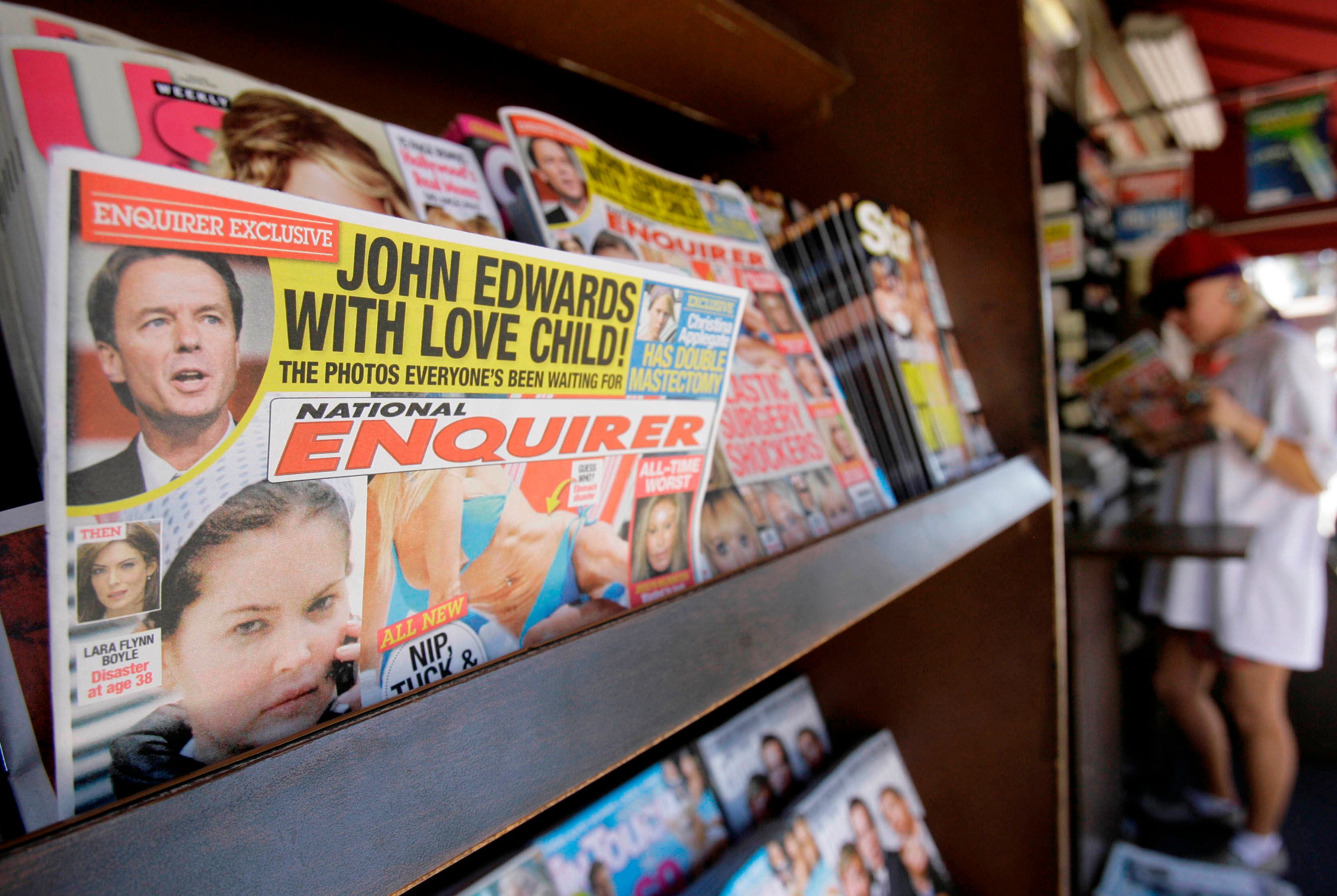 Here's Everything You Need To Know About The National Enquirer, Jeff Bezos And Donald