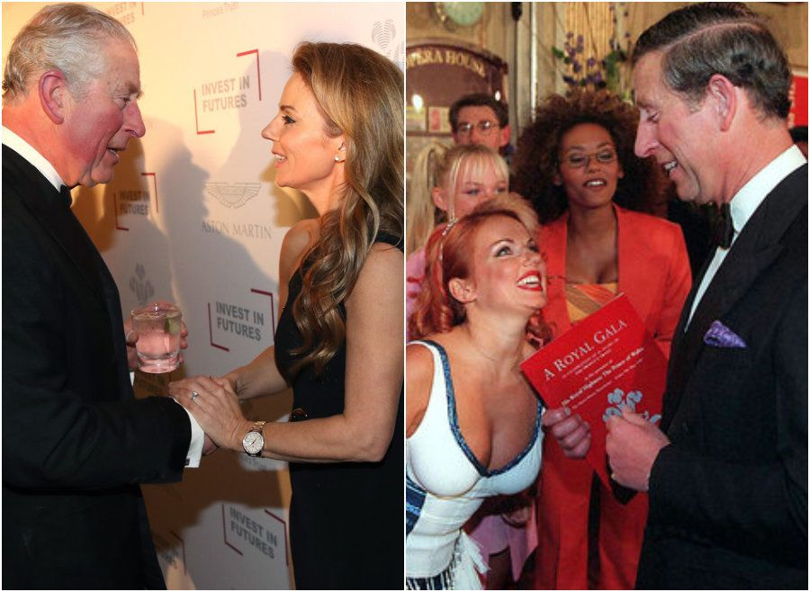 Geri Horner Reunites With 'Spice Boy' Prince Charles: 'He's Part Of The Spice Girls'