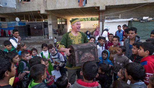 I Gave Up My Career To Bring Joy To Refugee Children Through