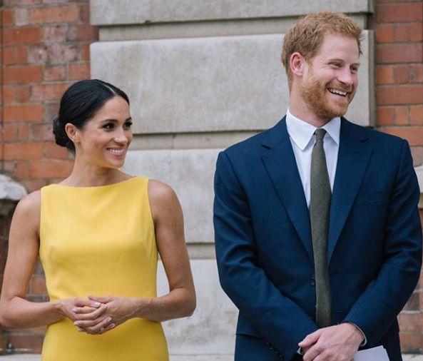 Le prince Harry et la duchesse Meghan Markle vont venir en visite officielle au