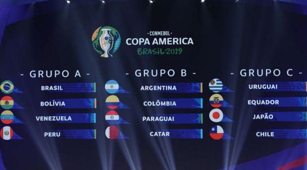 Jogos da Copa América serão realizados de 14 de junho a 7 de