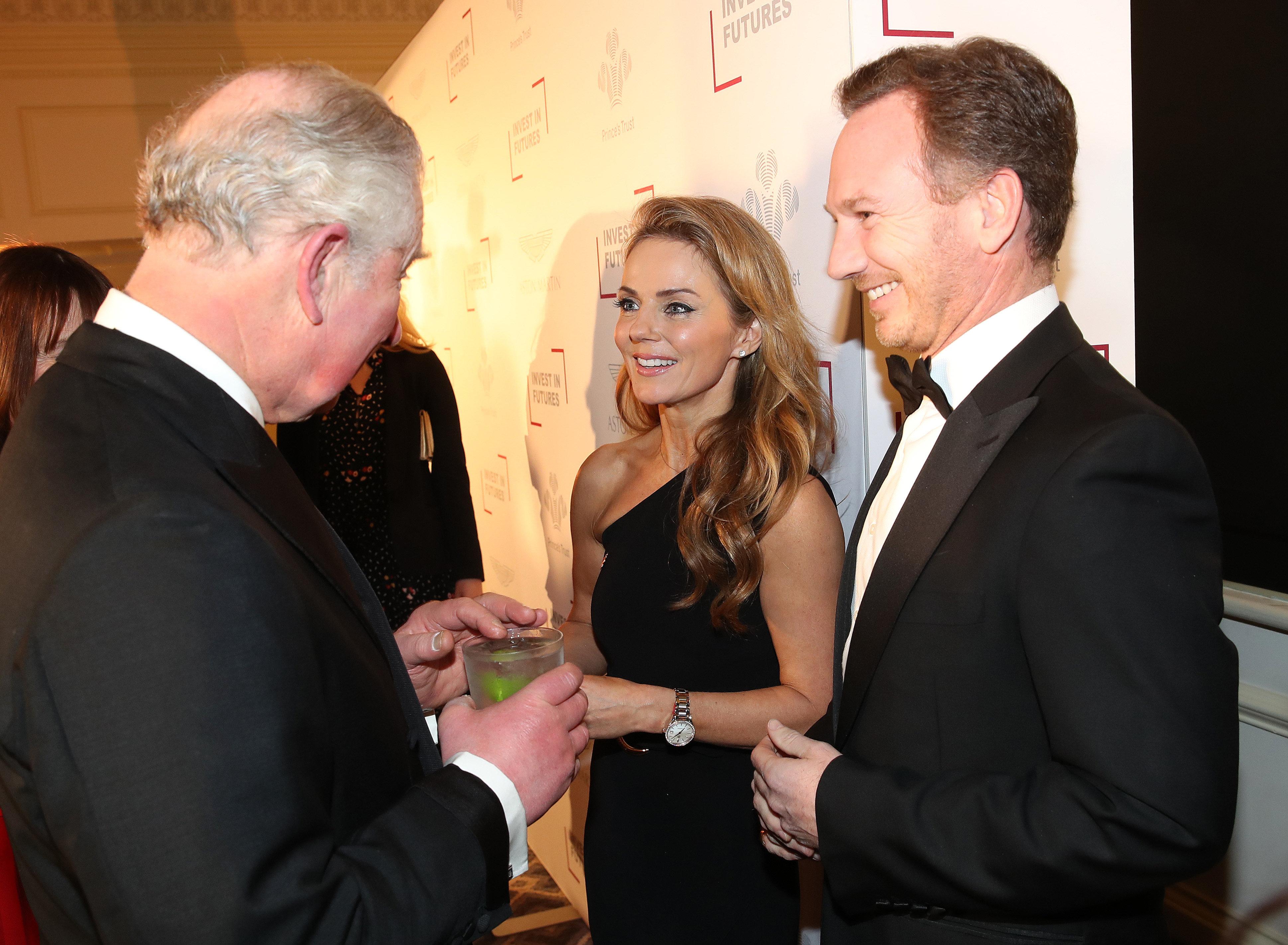 "Geri Horner Calls Prince Charles A ""Spice"