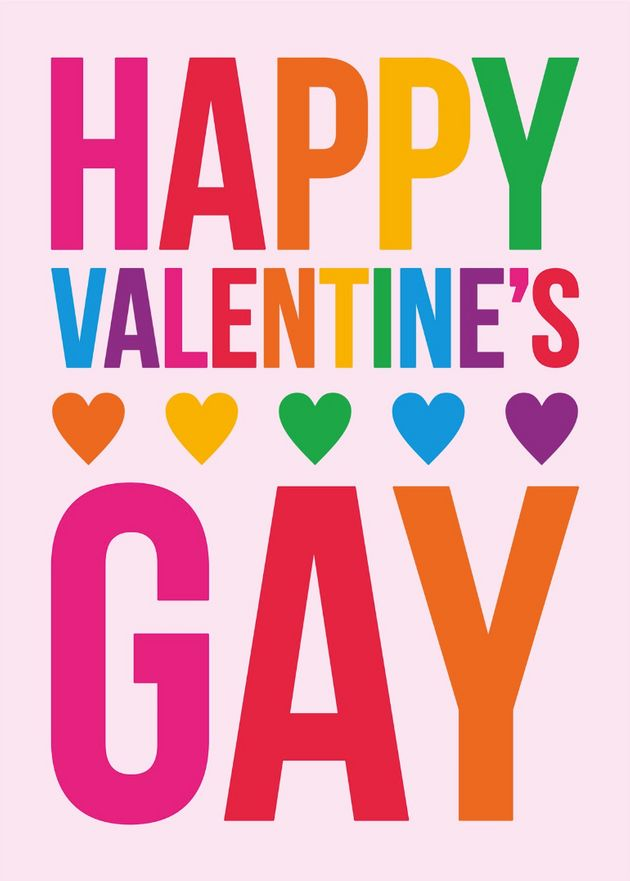 LGBT+ Cards To Make Valentine's Day Less