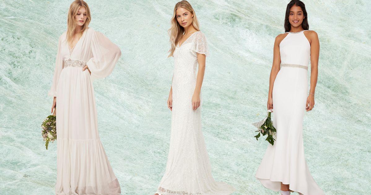The Best High Street Wedding Dresses In UK Shops Under £