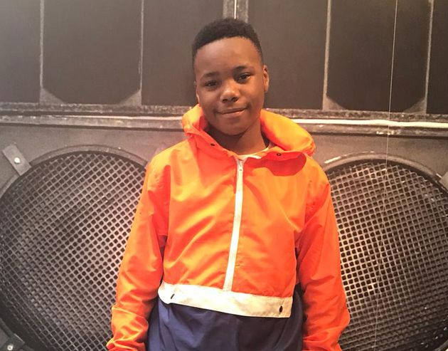 14-year-old Jaden Moodie was stabbed to death in east London, earlier this