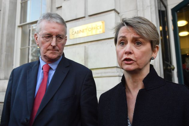 A cross-party group of MPs led by Yvette Cooper failed to block no-deal in a vote last month