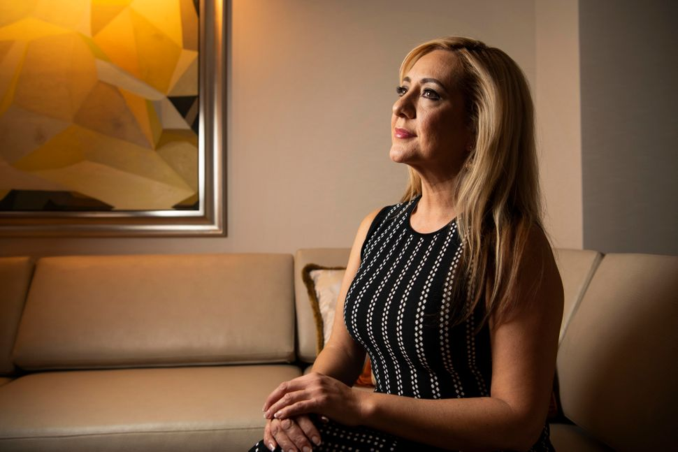 "Lorena Bobbitt in New York on Feb. 4. A documentary of her life, ""Lorena,"" will premiere on Amazon on Feb. 15."