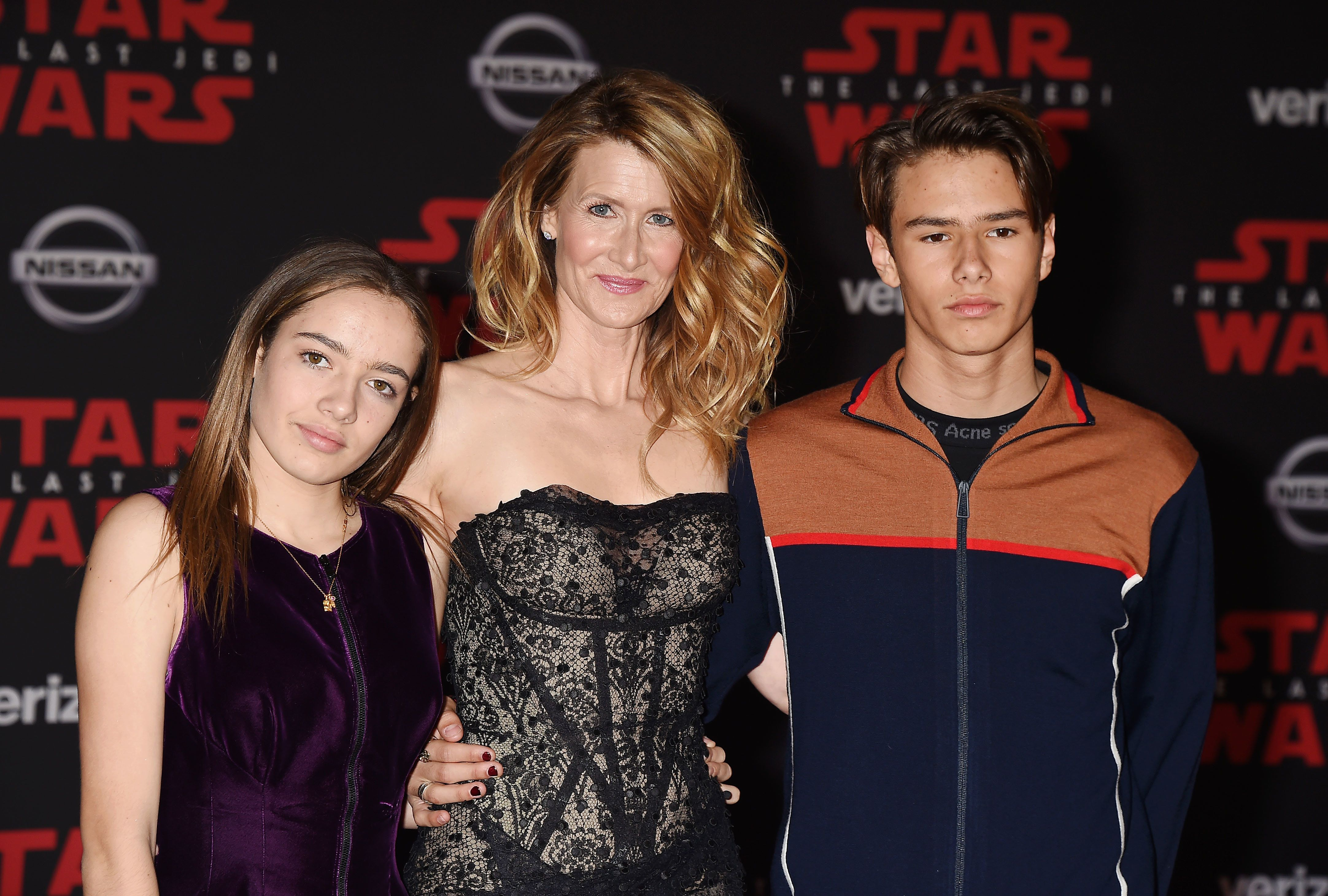 Laura Dern has a son, Ellery, and daughter, Jaya, with ex-husband Ben