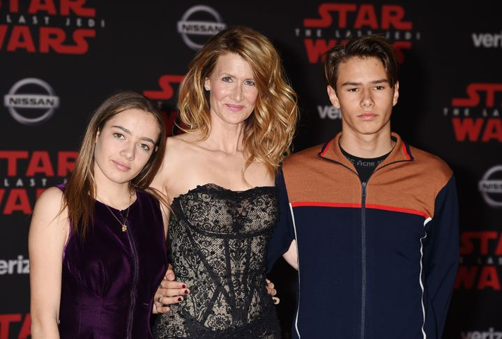 Laura Dern has a son, Ellery, and daughter, Jaya, with ex-husband Ben Harper.