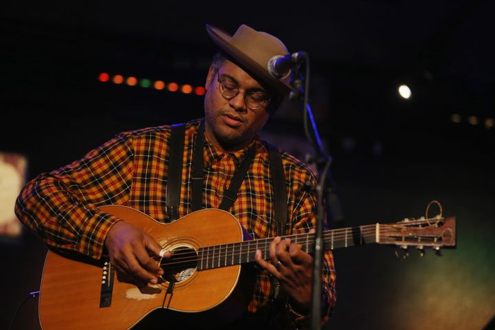 Dom Flemons performing live at City Winery in New York City
