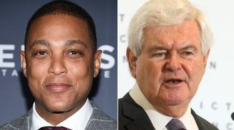 Don Lemon and Gingrich