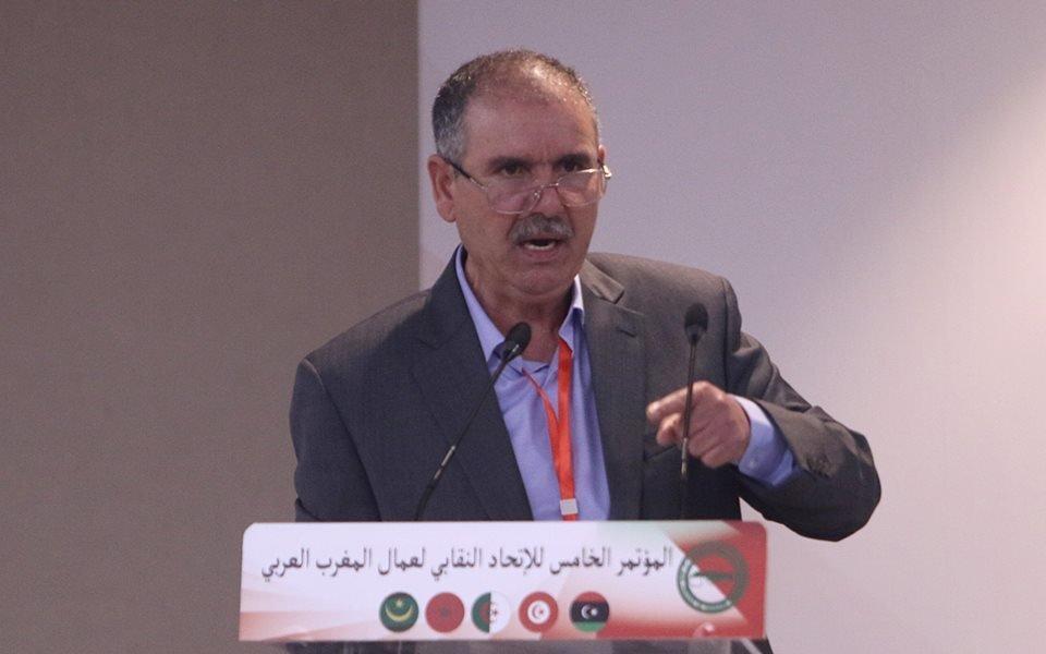 Nourdinne Taboubi élu Secrétaire Général de l'Union syndicale des travailleurs du Maghreb