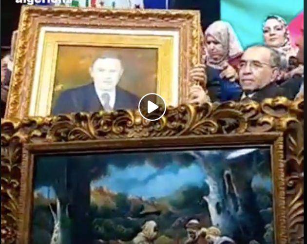 Le FLN offre un cadre ... au cadre du président Bouteflika