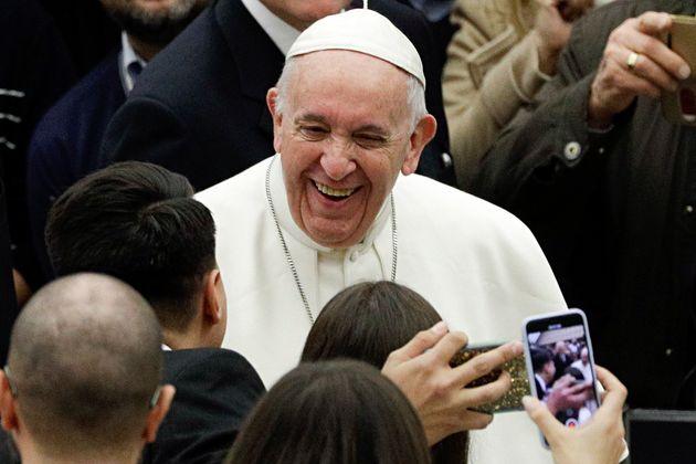 Le pape François lors d'une audience au Vatican, le 6 février