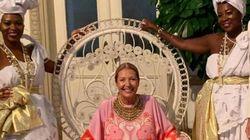 O Brasil colonial escravocrata virou tema da festa de diretora da