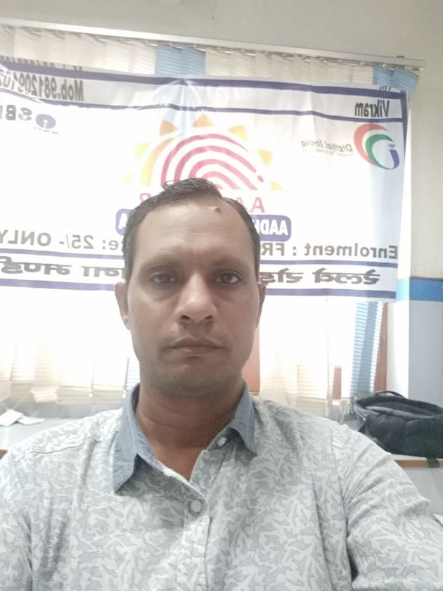 Vikram Sheokand, a former Aadhaar operator with the State Bank Of India, has alleged  theft and...