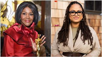 Actress Cicely Tyson and director Ava DuVernay.