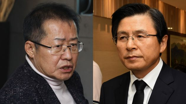 홍준표, 오세훈의 보이콧 가운데 황교안 홀로 자유한국당 당대표 선거