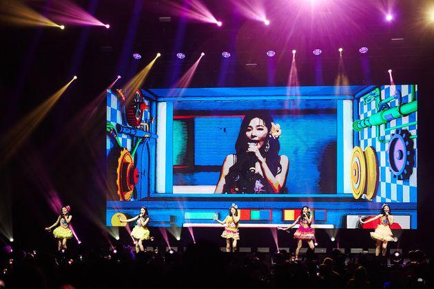 레드벨벳의 미국 LA 첫 단독 콘서트 전석 매진을