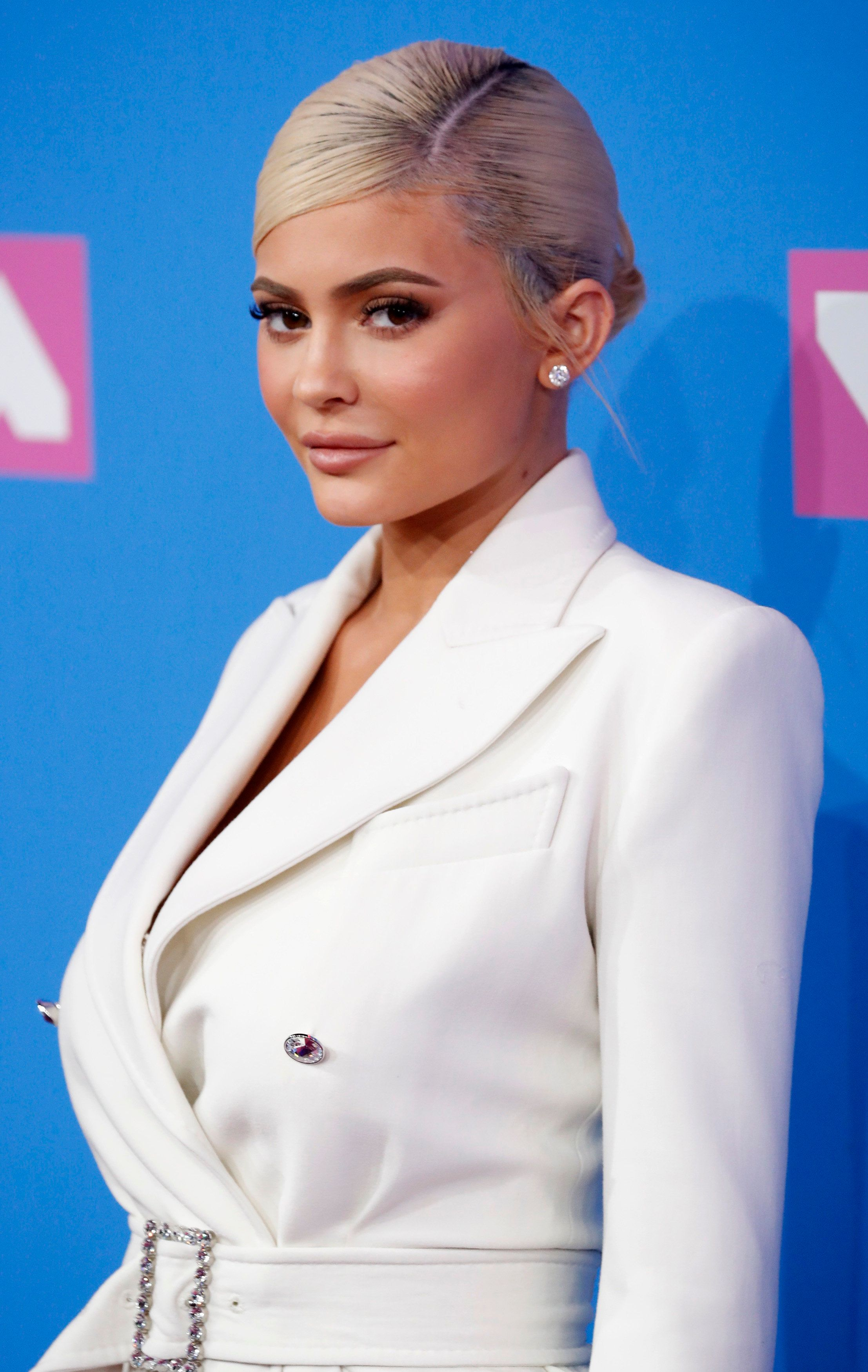 2018 MTV Video Music Awards - Arrivals - Radio City Music Hall, New York, U.S., August 20, 2018. - Kylie Jenner. REUTERS/Andrew Kelly