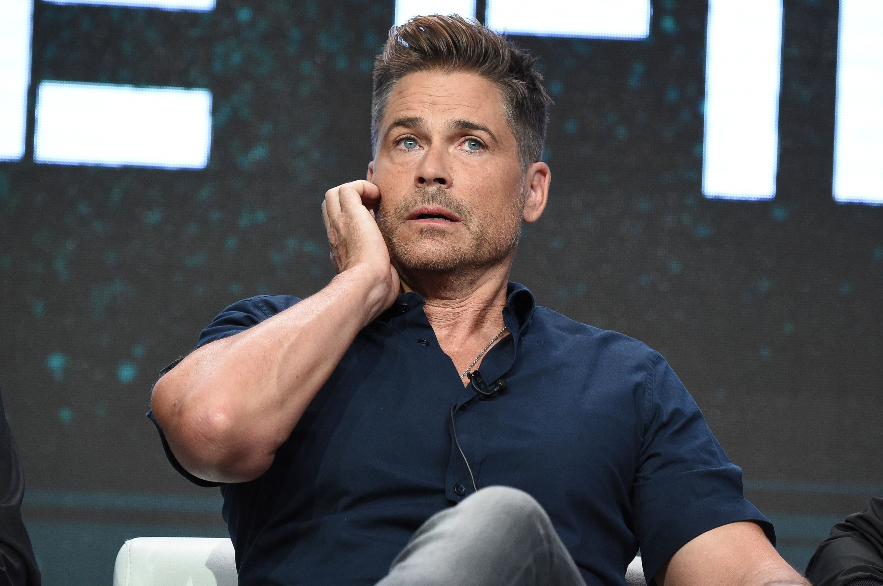 "Rob Lowe attends the ""Lowe Files"" panel during the A&E portion of the 2017 Summer TCA's at the Beverly Hilton Hotel on Friday, July 28, 2017, in Beverly Hills, Calif. (Photo by Richard Shotwell/Invision/AP)"