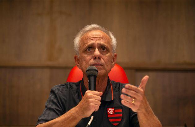 Reinaldo Belottise recusou a responder perguntas da imprensa após seu