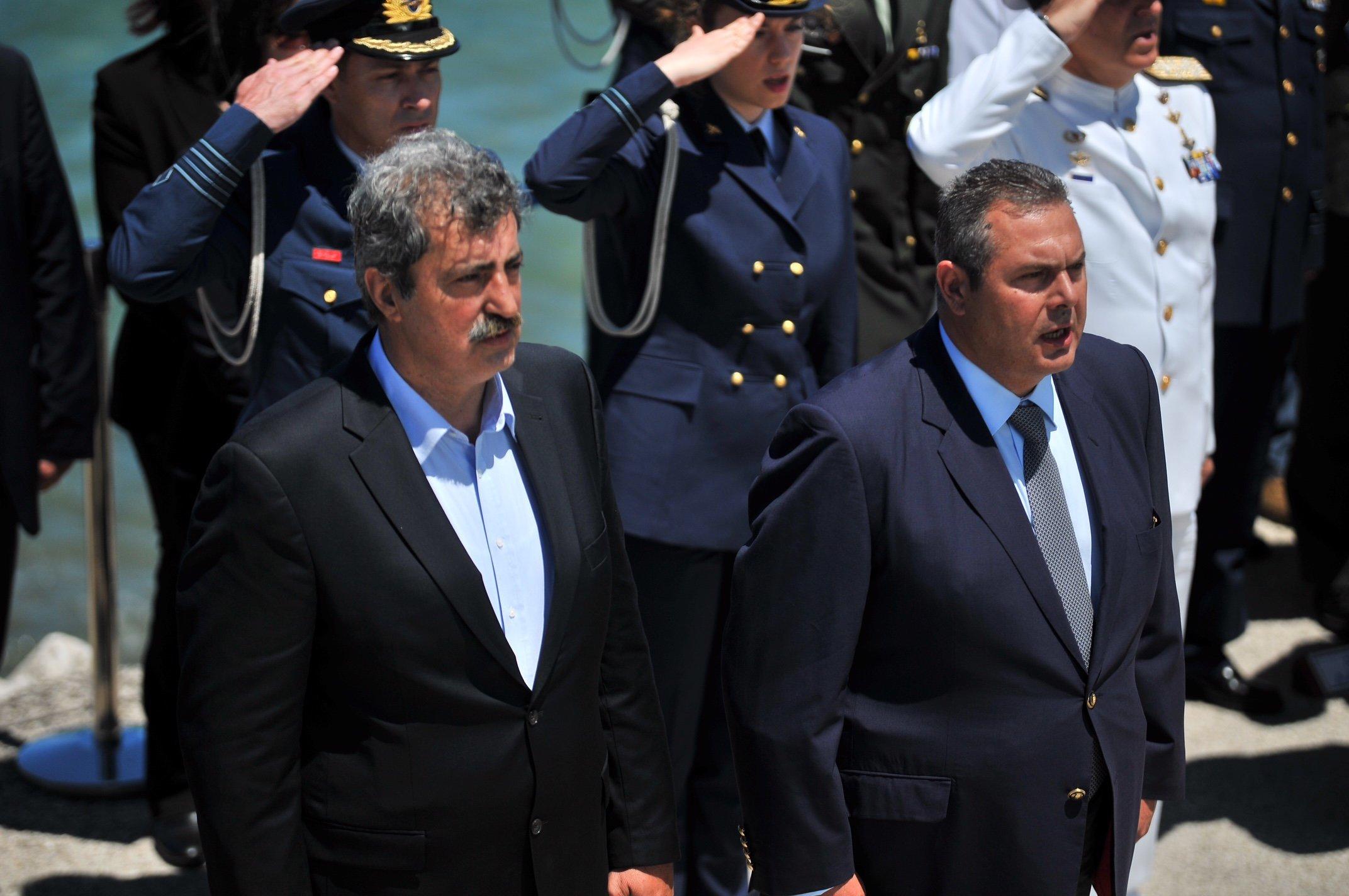 Καμμένος: «Ξεχωρίζω από τον ΣΥΡΙΖΑ τον Πολάκη, γιατί ό,τι έχει να το πει, το λέει