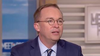"Mick Mulvaney on NBC's ""Meet The Press"""