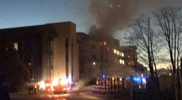 University Of St Andrews Fire: Crews Put Out Major Blaze In Science