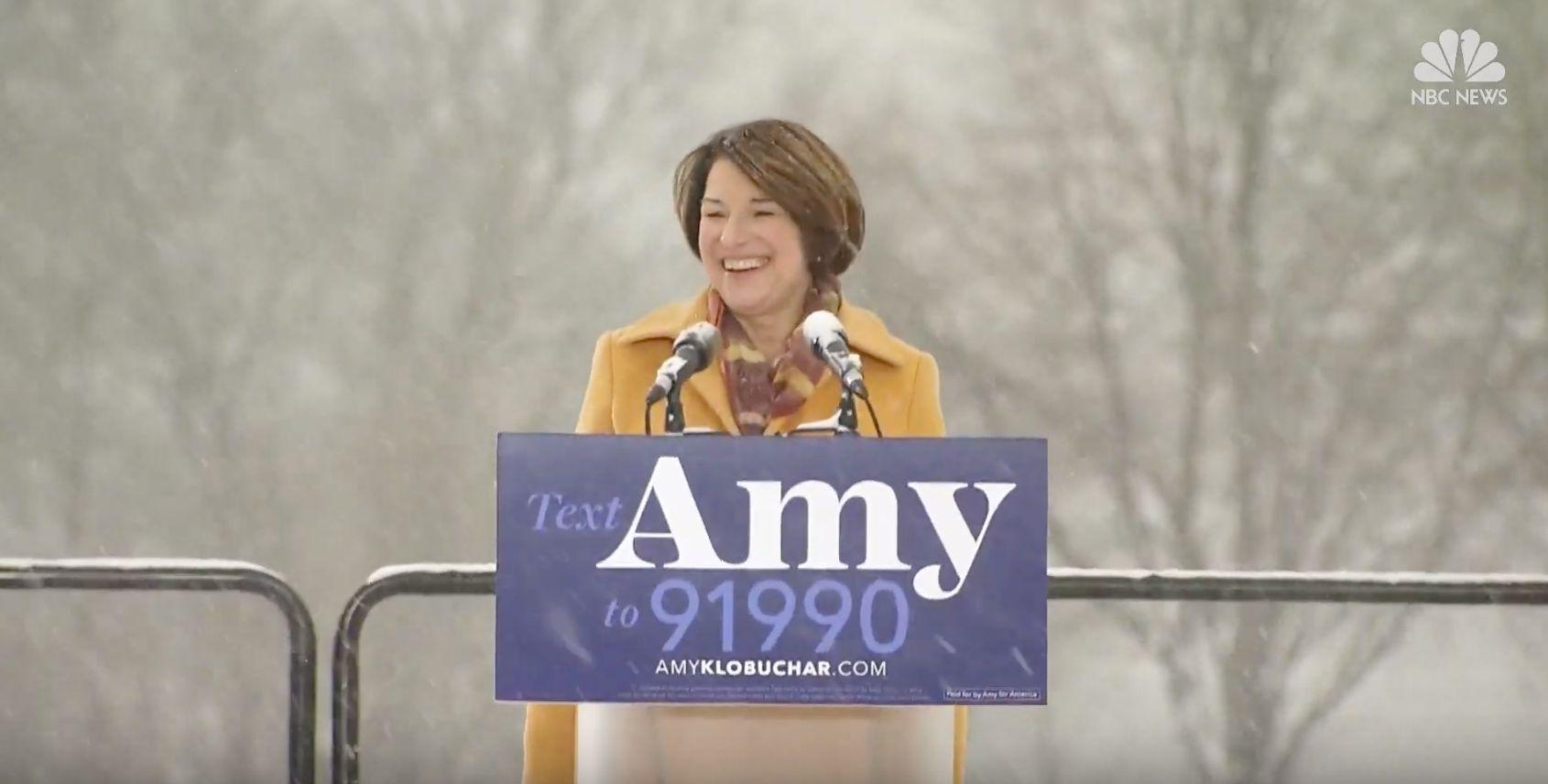 Amy Klobuchar Announces 2020 Presidential